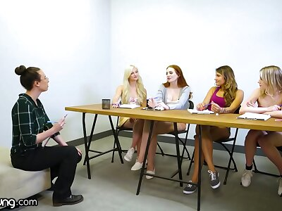 WebYoung Lesbian Focus Group Has A Foursome Sloppy Cautiousness To Melody Marks