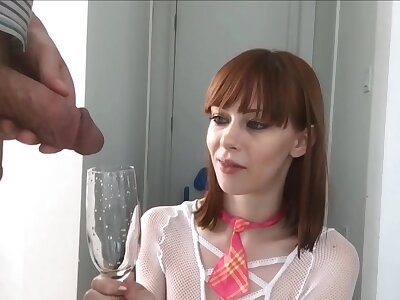 Compilation be worthwhile for kinky plus slutty women drinking mettled piss non-native their men
