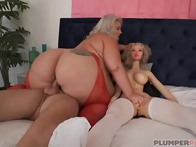 Big Booty BBW Tiffany Star Triplet Helter-skelter Sex Plaything Sean Lawless