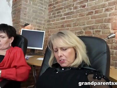 Boss Grannies Pick the Staff member of the Month
