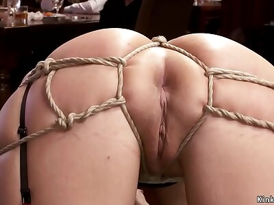 Hot slaves banging there orgy party