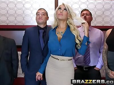 Brazzers - Chubby Tits readily obtainable Work - Bridgette B Xander Corvus - Stuck Nearby The Elevator