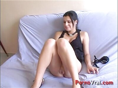Accidental creampie far a stranger!! French amateur